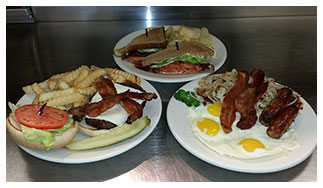 Breakfast Lunch Dinner at Lucky Loggers Restaurant